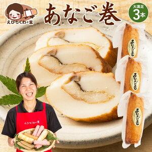 天ぷら 穴子巻き 1本×3袋セット [ 穴子 あなご アナゴ 天ぷら てんぷら おつまみ おかず お弁当 おでん 具材 練り物 練物 お試し 食品 お取り寄せ グルメ 安心の国内製造 クール便 ] 青木かま