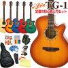 어쿼스틱 기타 초보자 12점 세트 ARIA TG-1 캇타웨이타이프아코기스타트셋트