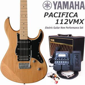 YAMAHA ヤマハ PACIFICA パシフィカ 112VMX エレキギター 初心者 セット VOXアンプ ZOOM G1XFour付 18点セット