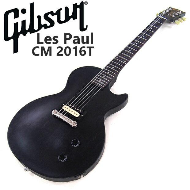 ギブソン Gibson USA Les Paul CM One Humbucker 2016 T Satin Ebony エレキギター 【98765】【レスポール】