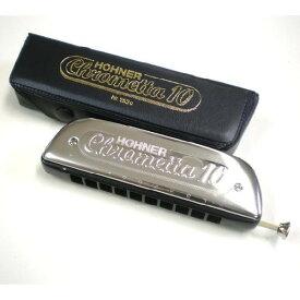 HOHNER ホーナー Super Chrometta10 253/40 クロマチックハーモニカ