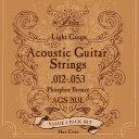 【3セットパック】 ARIA アリアアコースティックギター弦 AGS-203L 【ネコポス(np)送料210円(ポスト投函)】 【代引き…
