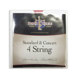 KAMAKA Standard & Concert String 4 カマカ スタンダード・コンサート用ウクレレ弦 【ネコポス(np)送料230円(ポスト投函)】【旧速達メール便】