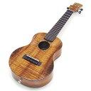 キワヤ ウクレレ コンサート KPC-1K HG #310018 ハワイアン・カーリーコアトップ オール単板 国産モデル チューナー …