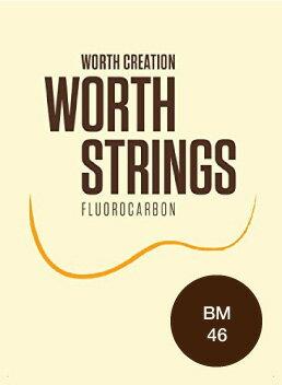 ワースストリングス Worth Strings フロロカーボン ウクレレ弦セット ブラウン ミディアム BM 【ネコポス(np)送料210円(ポスト投函)】 【代引きの場合送料¥450】 【旧速達メール便】