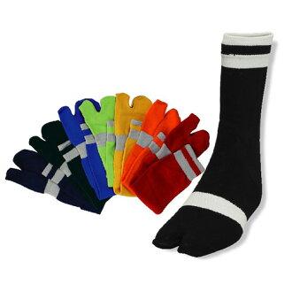 阪神質地F-02內部短襪(二趾襪型)藍色L