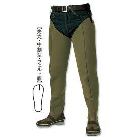 阪神素地 CF-701 水中長靴[中割・フェルト底] 28cm