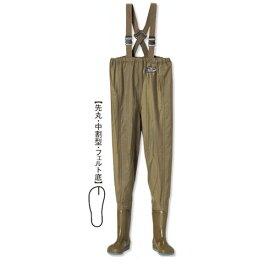 阪神素地 【SILVERFOX】 W-75 ウイニングウェーダー[ウエストハイ・中割] 24.5cm