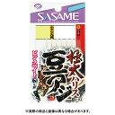 【メール便可】ささめ針 S-113 極太豆アジ ピンクベイト 0.5-1.5号