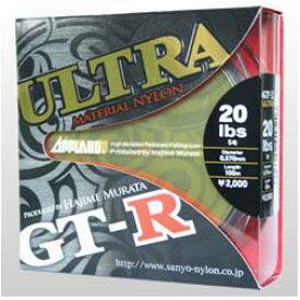 【メール便可】サンヨーナイロン GT-R ULTRA 100m 16LB-20LB