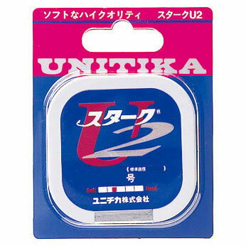 【メール便可】【コンビニ受取可】ユニチカ スタークU2 50m 0.2号〜1.5号