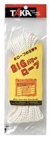 タカ産業 ロープ-B BIGパワーロープ 6mm×10m 小物