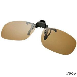 シマノ クリップオングラスTAC HG-019P (クリップ部)マットブラック (ブラウン)