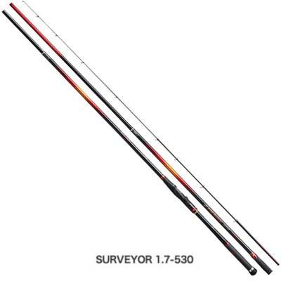 シマノ FIRE BLOOD Gure[ファイアブラッド グレ] サーベイヤー 1.7-530 スピニングロッド