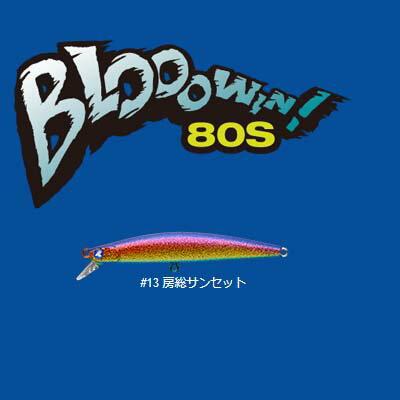 【メール便可】【コンビニ受取可】BlueBlue ブローウィン80S #13 房総サンセット