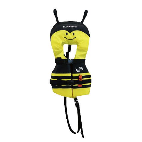 高階救命器具 ブルーストーム BSJ-210I 幼児用 みつばち ライフジャケット