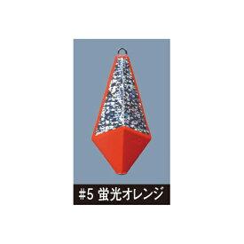 【メール便可】がまかつ 競技カワハギ ヒラ打ちシンカー (30号) ♯5蛍光オレンジ