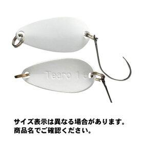 【メール便可】ジャッカル ティモン ティアロ (Tearo) 1.6g 22mm ホワイト ルアー
