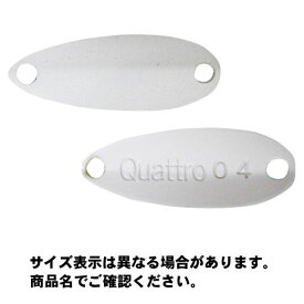 【メール便可】ジャッカル ティモン ちびクワトロスプーン (Cibi Quattro Spoon) 0.6g 22mm ホワイト ルアー