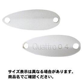 【メール便可】ジャッカル ティモン ちびクワトロスプーン (Cibi Quattro Spoon) 1.2g 22mm ホワイト ルアー