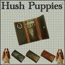 【送料無料】牛革 キーケース 鍵入れ Hush Puppies HushPuppies ハッシュパピー ブランド 小物 革 人気 本革 プレゼン…
