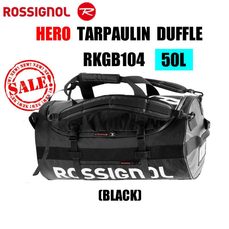 ロシニョールROSSIGNOLダッフルバッグヒーローターポリンダッフルRKGB104約50リットル