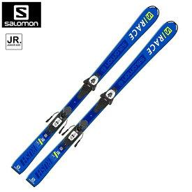 サロモン スキー ビンディング 2点セット L40890600 S/RACE RUSH Jr + L6 GW J ジュニア 子供 【202011C】【ALPINESALE】
