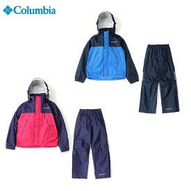 Columbia コロンビア シンプソンサンクチュアリユースユースレインスーツ(上下セット)PY00722018秋冬継続モデル