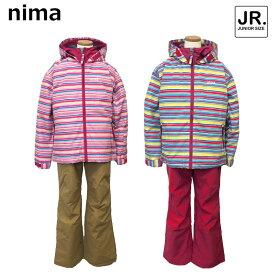 セール特別価格!!nima NIMAニーマジュニアスキーウェアJR-6007雪遊び 防寒具子供 子供用130 140 150 160女の子 小学生