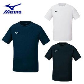 ミズノ Tシャツ ユニセックス ナビドライTシャツ(半袖/丸首) 32MA1190 男性 女性 吸汗速乾 トレーニング 【202103B】