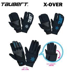 メール便対応可TAUBERTトーバート スキーグローブ スノーボードグローブX-OVERクロスライトオーバー(ユニセックス)T81615