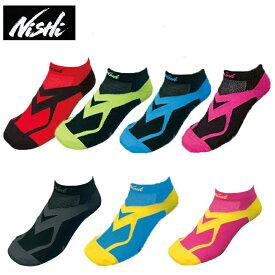【メール便対応可】NISHI ニシ・スポーツVVホールドレーシング ソックス N22-001