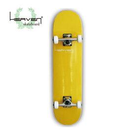 ヘブン スケートボード コンプリート VITAMIN バナナイエロー 31インチカナディアンメイプル 入門 中級向け