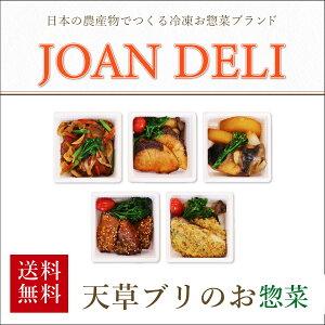 \お魚増量&種類が選べるようになりました/天草素材の冷凍惣菜 第1弾 天草ブリのお惣菜(ごはん無し)5種から選べる12食セット JOANDELI 海鮮ランチ 高級 煮付け ガーリックバターしょうゆ