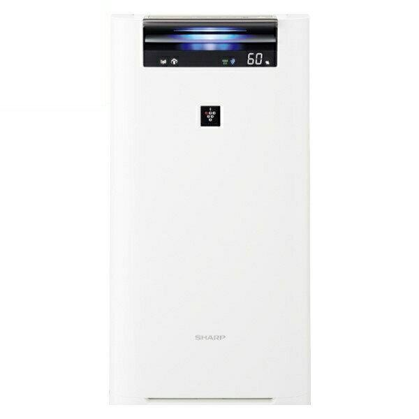 『エントリー&Rカードでポイント9倍』『送料無料』シャープ プラズマクラスター加湿空気清浄機 プラズマクラスター25000 13畳 ホワイト KI-HS50-W