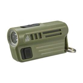 『送料無料』LEDミニライト USB充電式 OHM 08-0300 LHA-MUSB3OHM 00-G ハンディライト 懐中電灯 アウトドア 防災 防犯グッズ
