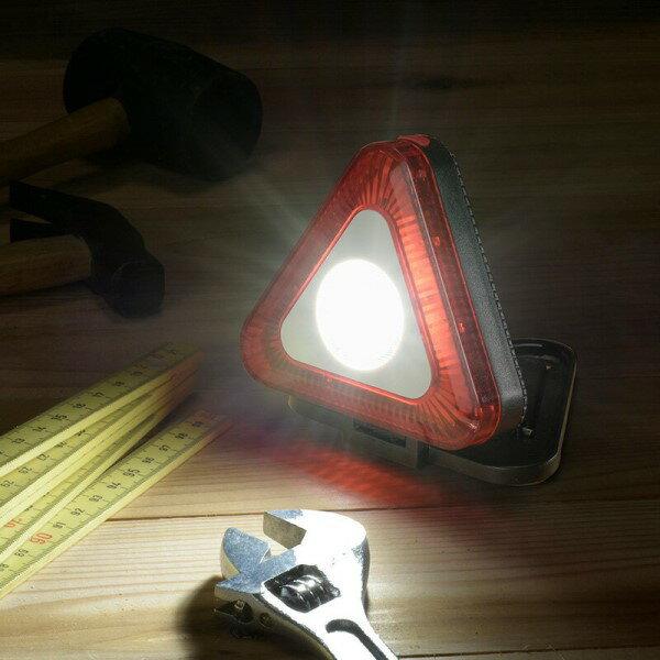 \楽天カードでポイント9倍/『送料無料』OHM LED多目的作業ライト 三角型 200lm 電池式 07-8888 SL-W200TRI 防災 防犯 アウトドア用