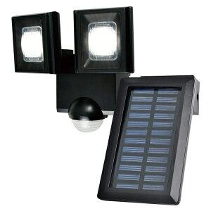 『送料無料』ELPA 屋外用LEDセンサーライト ソーラー式 ESL-N112SL 防雨 防犯 人感センサー セキュリティ エルパ