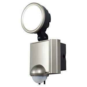 \ポイント5倍!4/16まで/『送料無料』ELPA 屋外用LEDセンサーライト AC電源 10WLED 1灯 ESL-SS1001AC 防雨 防犯 人感センサー セキュリティ エルパ