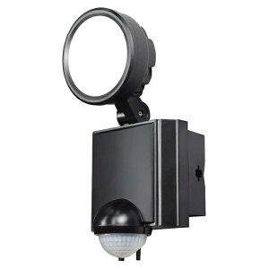 \エントリポイント3倍!4/8限定/『送料無料』ELPA 屋外用LEDセンサーライト AC電源 8WLED 1灯 ESL-SS801AC 防雨 防犯 人感センサー セキュリティ エルパ