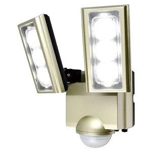 \ポイント5倍!4/16まで/『送料無料』ELPA 屋外用LEDセンサーライト AC電源 ESL-ST1202AC 防水 防犯 人感センサー セキュリティ エルパパ
