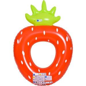 『送料無料』JILOng ジャンボストロベリーフロートリング 167×116×32cm イガラシ JL-633192 浮き輪 フロート ボート かわいい おしゃれ インスタ プール 海 川 水遊びに