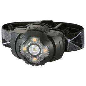 『送料無料』LEDヘッドライト 260lm 保護等級IPX4 OHM 08-0913 LC-S20A7 懐中電灯 アウトドア 防災 防犯グッズ