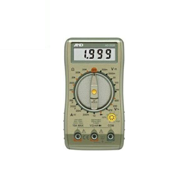 エー・アンド・デイ デジタルマルチメーター AD-5528