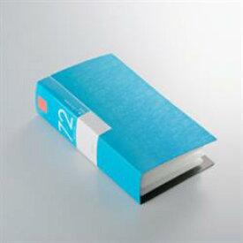 バッファロー BSCD01F72BL(ブルー) CD/DVDファイルケース ブックタイプ 72枚収納