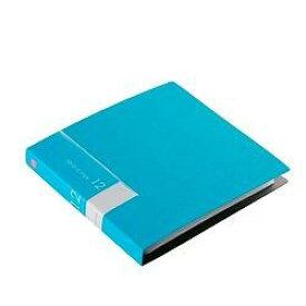 バッファロー BSCD01F12BL(ブルー) CD/DVDファイルケース ブックタイプ 12枚収納