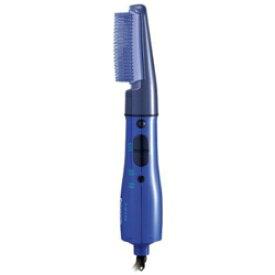 パナソニック Panasonic カールドライヤー 紫 くるくるドライヤー ZIGZAG EH-KA50-V 海外使用可/ワイドブローブラシ/風量2段階切替