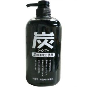 ジュン・コスメティック 純薬 炭シャンプー ポンプ