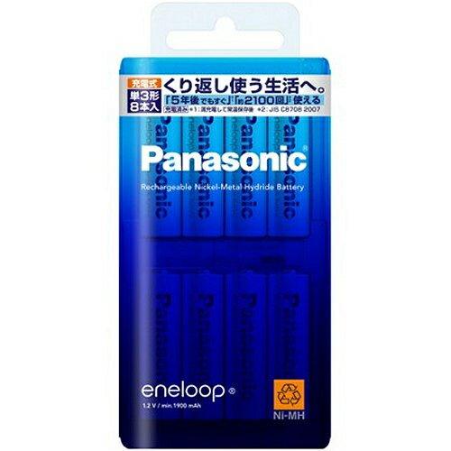パナソニック BK-3MCC/8 エネループ ニッケル水素電池 単3形 充電式 8本パック
