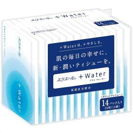 大王製紙 エリエール + Water プラスウォーター 14パック入